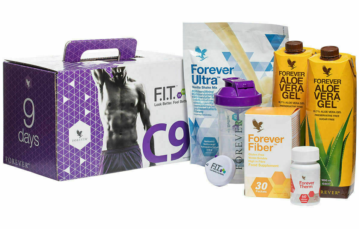 Forever Living C9 Clean 9 Vanilla Detox Aloe Vera Cleanse Diet Weight Loss  Plan for sale online | eBay