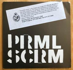 Primal Scream 'Swastika Eyes' CD Promo Card Sleeve Single 1999 Creation CCD326