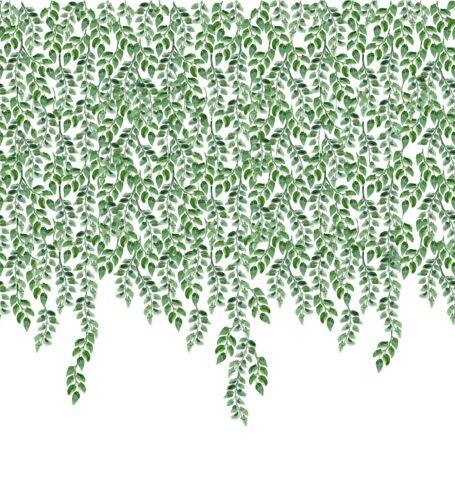 Soimoi Stoff Blätter Platte Dekorstoff 1 Meter bedruckt-PN-24B