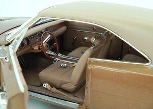 1969-Dodge-Charger-RT-SE-Medium-Bronze-Metallic-1-18-Auto-World-978