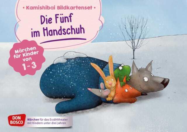 Antje Bohnstedt - Die Fünf im Handschuh. Kamishibai Bildkartenset.