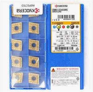 Indexable Turning Insert Kyocera CNMG 431PS CA5535 Grade CVD Carbide 10 pcs
