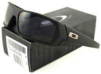 Oakley Gascan Sunglasses 03-473 Matte Black / Grey on sale