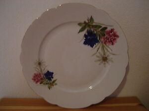 Bavaria-Zierteller-Sammelteller-Wandteller-Teller-Porzellan-Goldrand-27cm