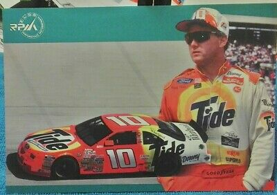 Industrioso Ricky Rudd 5.5x8 Hero Card, Postcard, Photo, Nascar Racing Legend 1997