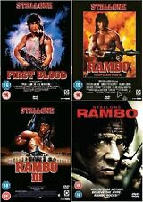 Rambo Complete DVD Collection: First Blood / Rambo 2 / Rambo 3 / Rambo 4 DVD