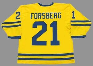 d75a2f74a Image is loading PETER-FORSBERG-Team-Sweden-Nike-Olympic-Throwback-Hockey-