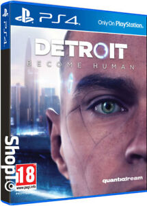 Sony PlayStation 4 Detroit Become Human Ps4 Official