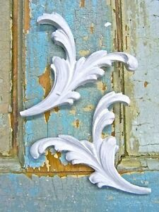 SHABBY n CHIC FLORAL ARCHITECTURAL *FURNITURE APPLIQUES*