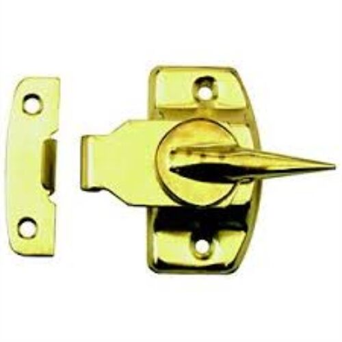 Prime-Line Products F 2527 Universal Cam Action Window Sash Lock and Keeper, Bra