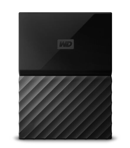 Western Digital My Passport 1000GB 5400RPM Portable External HDD Black...