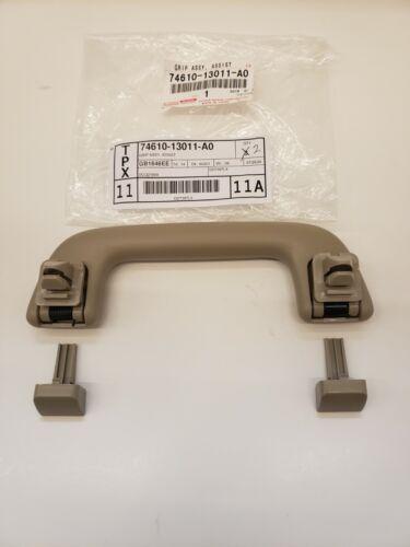 TAN LEXUS OEM FACTORY INSIDE REAR DOOR GRIP HANDLE W// CLIPS 2003-2009 GX470