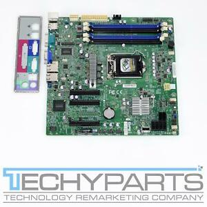 SUPERMICRO MBD-X9SCL LGA1155 Intel C202 Micro ATX  Motherboard