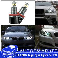 80W High Power Error Free CREE BMW E92 H8 LED Angel Eyes Halo Ring Light Bulbs