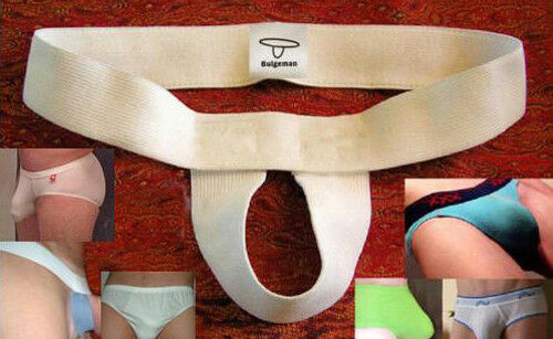 from USA TWO PAIR MENS Bulge Boosting Enhancer Slings Underwear-Swim Suit Ships