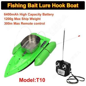 RC Wireless Fishing Lure Bait Boat 300M Remote Control for Finding Fish W1