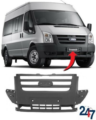 NEW FORD TRANSIT 2006-2013 FRONT BUMPER CENTER MIDDLE GRILLE 1437153