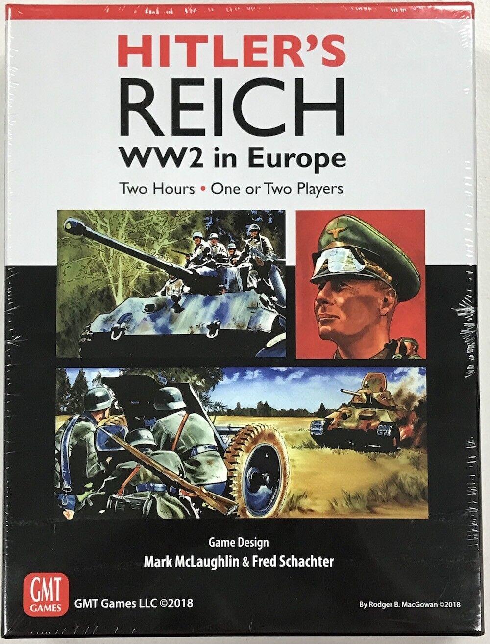 Hitler's Reich WW2 in Europe GMT (2018) New