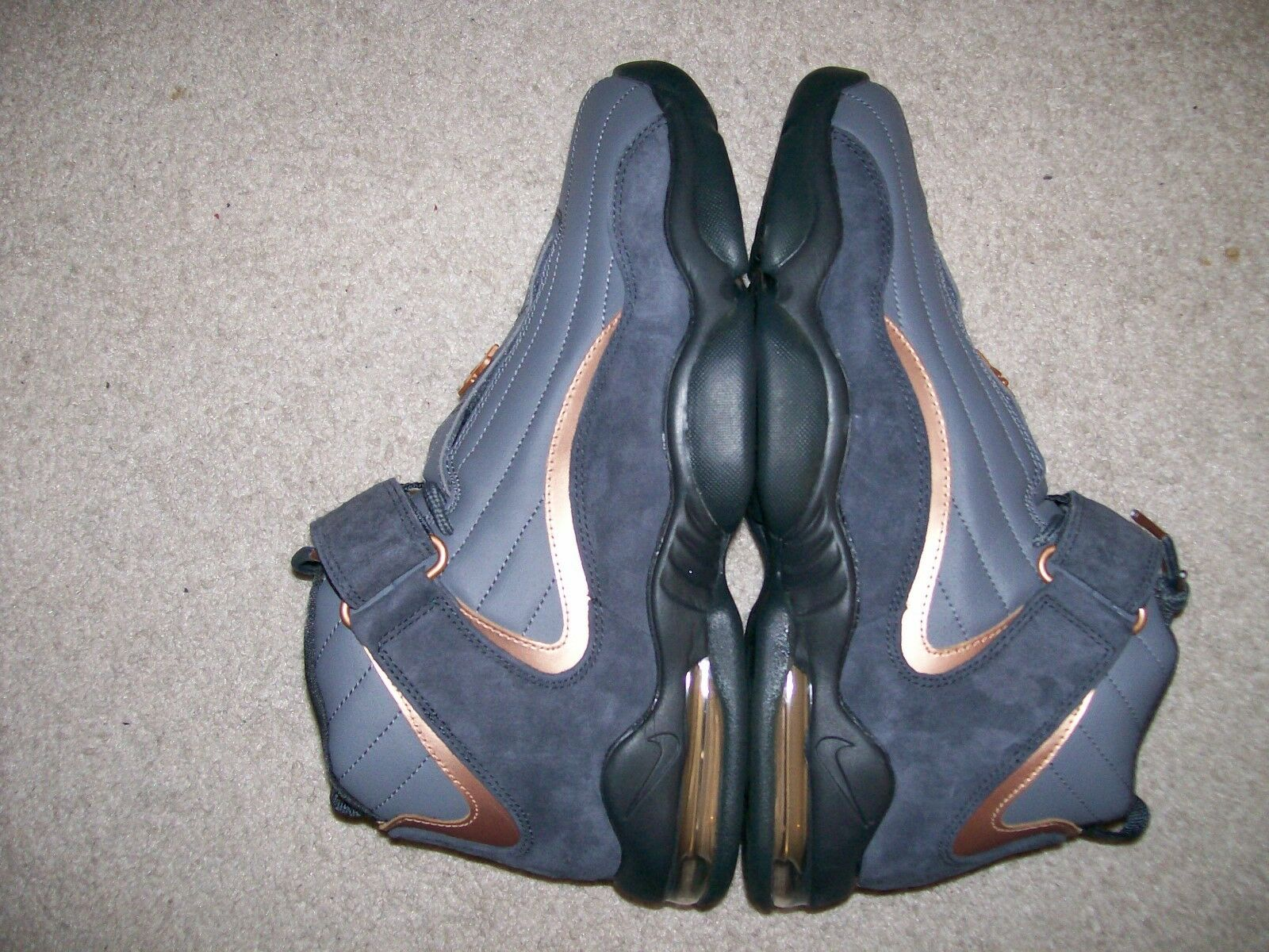 NEW Mens Nike Air Max Penny IV Copper III II I Foamposite 1 Pro Flight One 1/2
