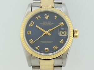 Rolex-Oyster-Perpetual-Midsize-Datejust-Automatic-Steel-Gold-68240