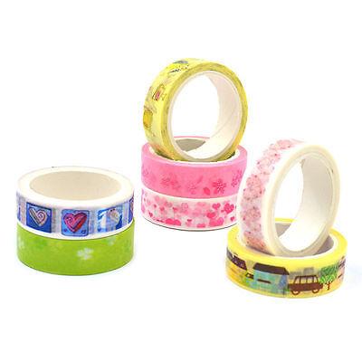 Crafts Washi Tape Sticky Paper Masking Adhesive Tape DIY Scrapbooking Decorative
