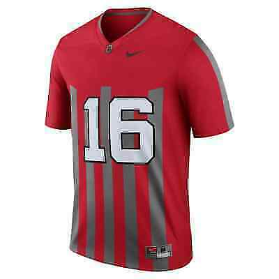 official photos a192c c7a3f Nike Ohio State Authentic Limited Throwback Jersey # 16 Large Stitched for  sale online | eBay