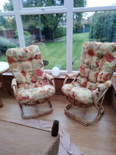 2 Vintage/ Retro conservatory chairs
