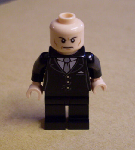 Lex Luthor Super Heroes Figuren Superman schwarz Lego Superhelden Neu