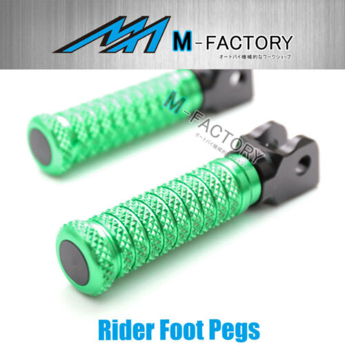 Billet Rider M-Grip Foot Pegs Fit Buell 1125R All Year