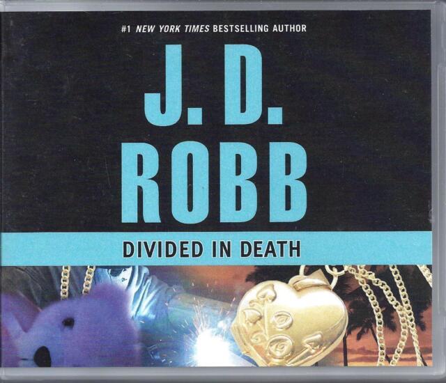 Divided in Death by J D Robb (#18) Susan Ericksen Unabridged CD Audio Book