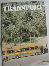 Mercedes Benz Transport Bus & Truck brochure No 104 1979