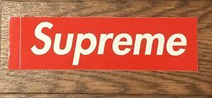 Skateboarding & Longboarding Stickers & Decals Supreme Sticker Red