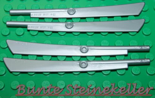 Waffen SB05-02 NINJAGO 4 Titan Klingen Messer 1x10 in silber Schwerter