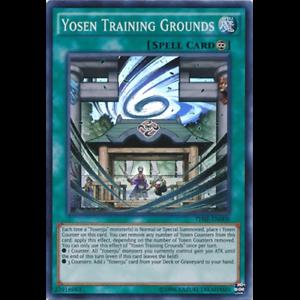 Yosen Training Grounds THSF-EN008 Super Rare Unlimited Edition
