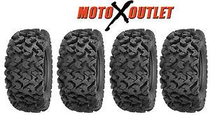 Sedona-Rip-Saw-27-Set-of-4-Atv-Tires-27x9-14-2-Front-27x11-14-2-Rear-Tire-Kit