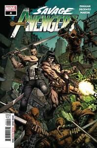 Savage-Avengers-4-Marvel-Comic-1st-Print-2019-Unread-NM