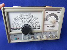 GW INSTEK GRG-450B RF SIGNAL GENERATOR- HAM RADIO TEST EQUIPMENT GREAT CONDITION