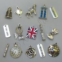 Doctor Who Time Lord Bracelet Charms 15pcs Mix Cm2012 - 15, 30, 45 Or 60pcs