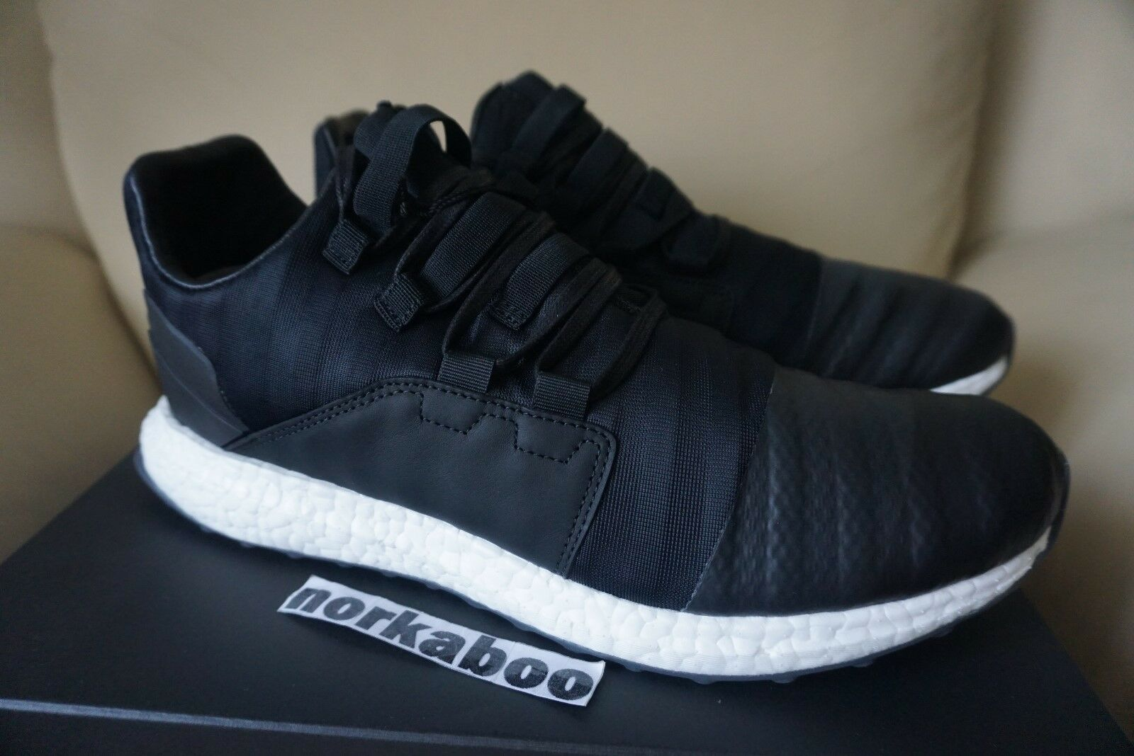 f6feed7d3 adidas Y-3 Men Kozoko Low By2632 Ultra Boost Black Utility Footwear ...