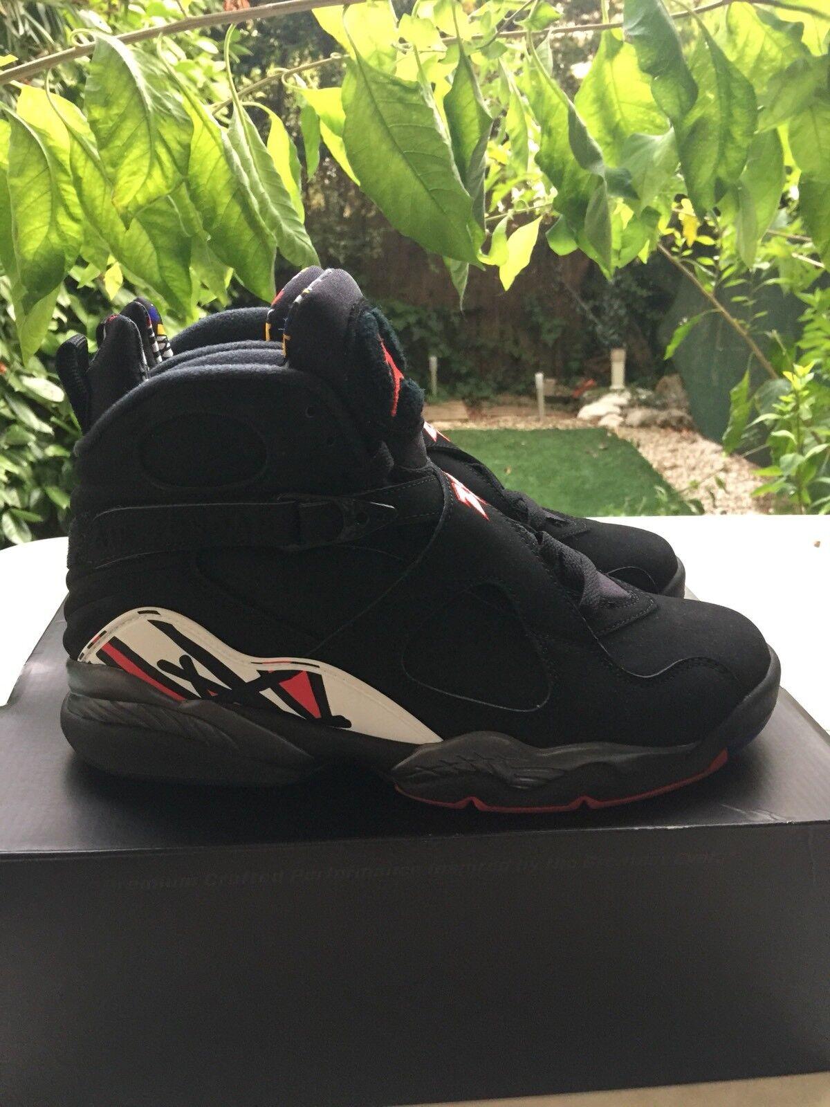 Nike Air Jordan 8 Playoff.                                      42eu 8,5us 7,5uk | Nuovo Prodotto  | Uomo/Donne Scarpa