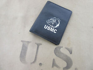 US-ARMY-MARINES-USMC-CORPS-BOULEDOGUE-BULLDOG-Leather-Wallet-CARTE-MAP-2