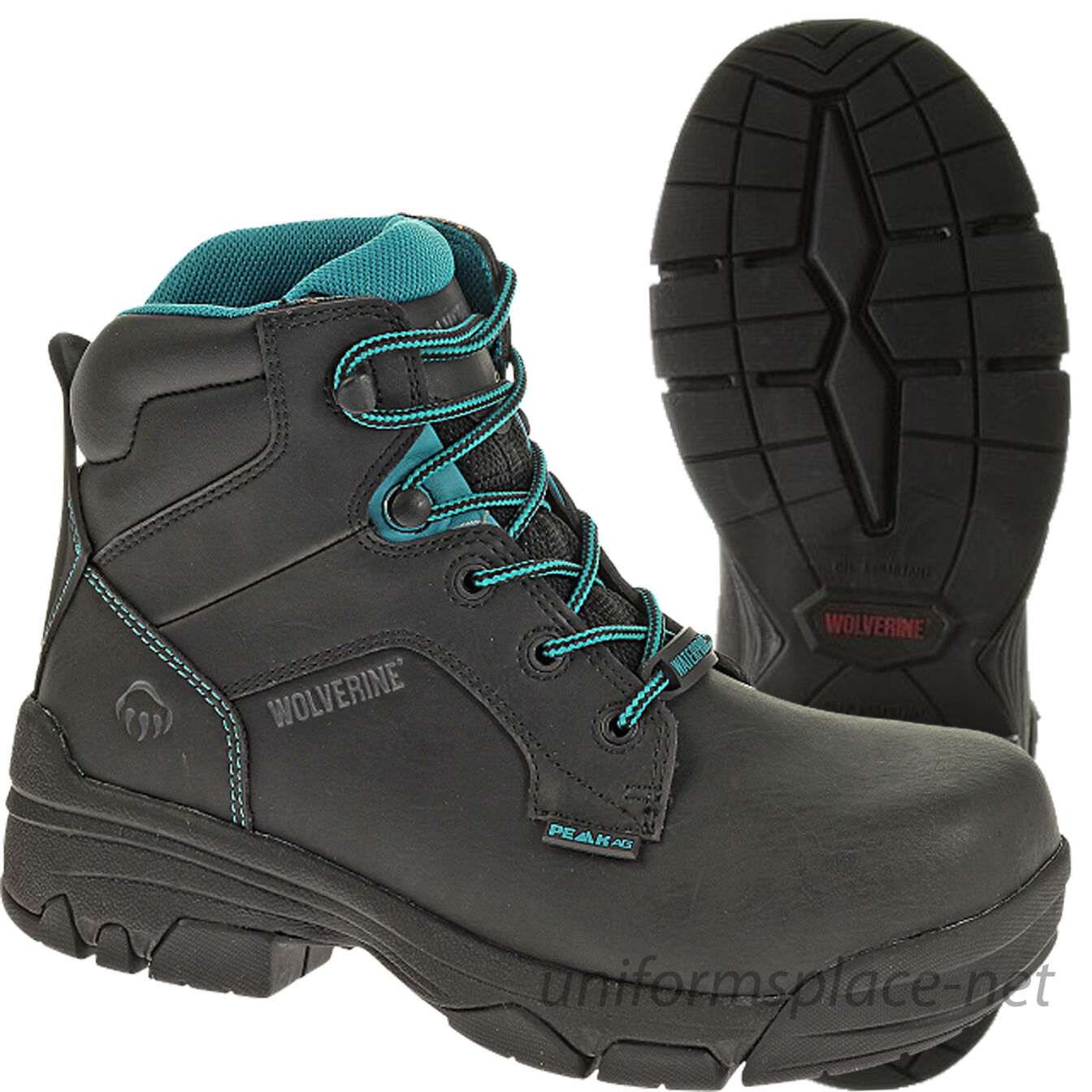 Wolverine Wolverine Wolverine Boots Womens Merlin Waterproof Composite Safety Toe Leather Work Boot 371d19