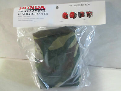 New Honda Generator Cover EU2000i EU2200i Camo Heavy Duty Cover 08P58-Z07-100G