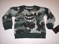Hurley Boys Camo Camouflage Sweatshirt Sweat Shirt 12 M 18 M 24 Months
