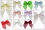 Chiffon Ribbon Bows R00712S-M