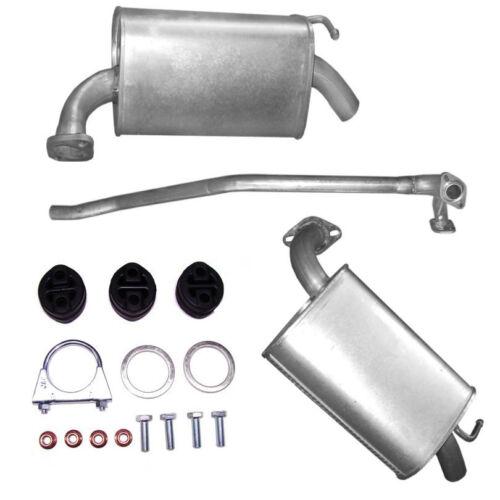 Montageware 16V //Schaltgetriebe Auspuff 2x Endtopf Mittelrohr Mazda 6 2.0i