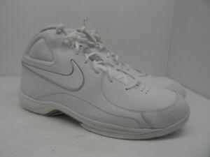 5731c73b359baf Nike Men s The Overplay VII Basketball Shoe White White Metallic ...
