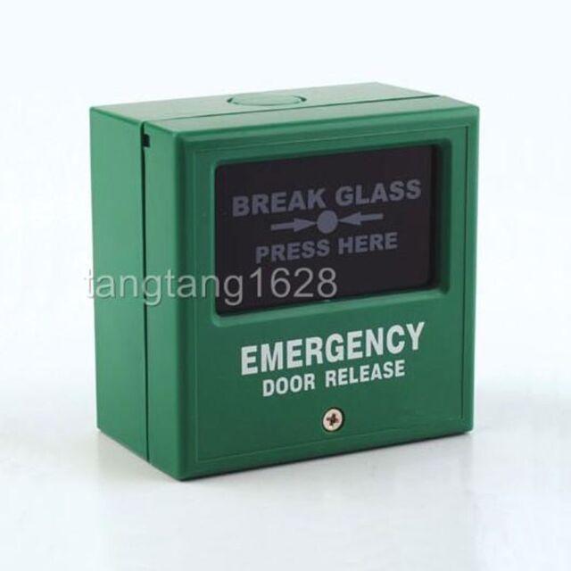 Emergency Door Release Glass Break Fire Alarm Button