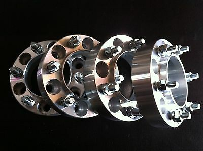 6X5 5 Wheel Spacers >> 4 Fit Toyota Tacoma 4Runner Tundra FJ Wheel Spacers 1.25 ...