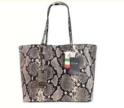 d8f82ca1caf0 New Claudia Firenze made in Italy luxury women's fashion tote bag | eBay